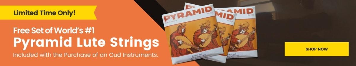 Advertisement - Pyramid Lute Strings