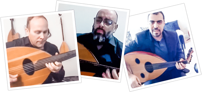 Image of musicians playing Oud