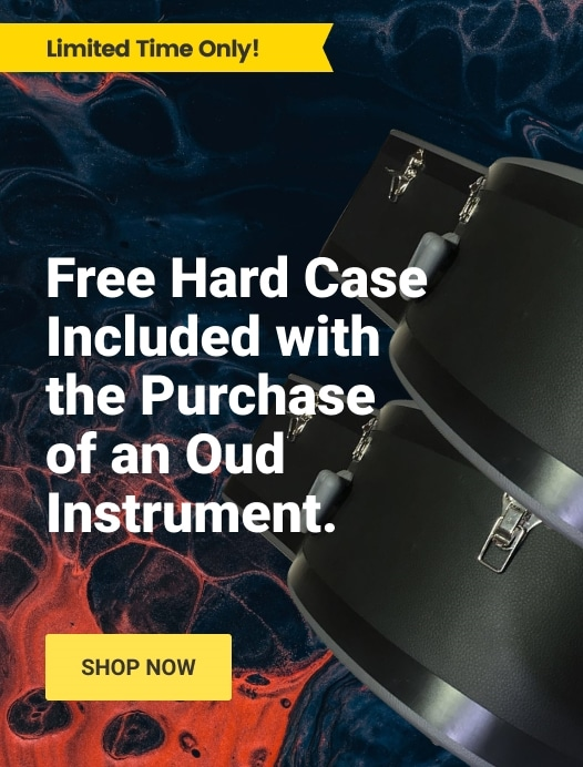 Advertisement - Free Hard Case Included with purchase of an Oud Instrument