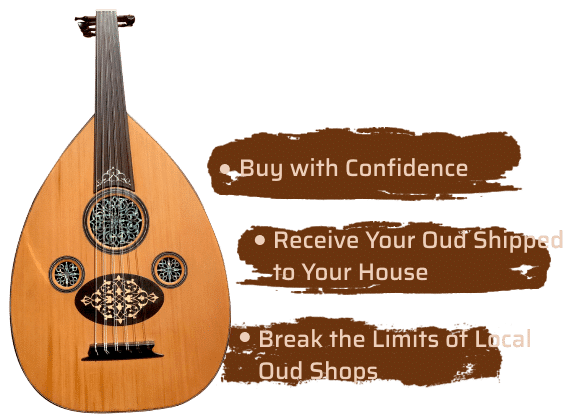Arabic Oud instrument for sale