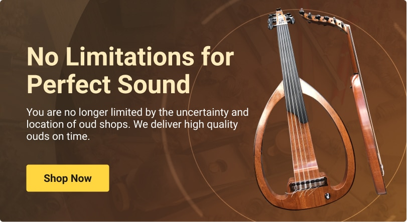 no limitation for perfect oud sounds, buy from Oudinstrument.com