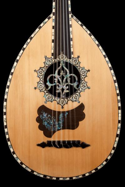 Oud Ra A1 - Oud Instrument - Face 1