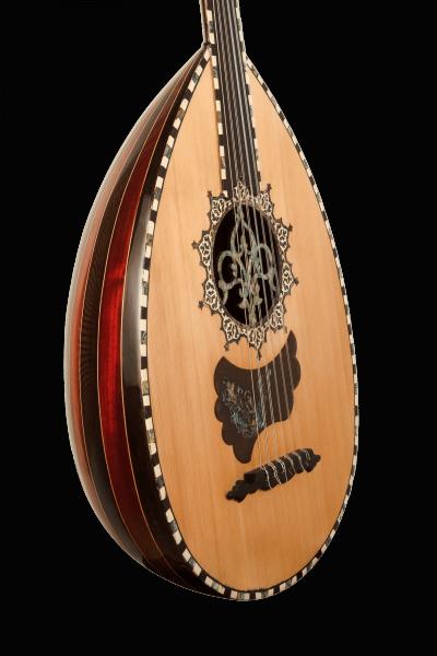 Oud Ra A1 - Oud Instrument - Face 2