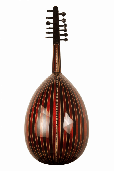Oud Ra A1 - Oud Instrument - Back